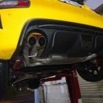 アバルト595 新規制車検対応スポーツマフラー 在庫あります!
