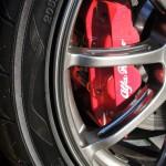 アルファロメオ4C サーキット用ブレーキパッドに交換