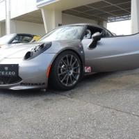 アルファロメオ4Cラジアルタイヤ最速プロジェクト (1)