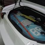 アバルト124スパイダー トランク内張り加工でゴルフバッグ搭載!