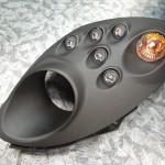 アルファロメオ 4Cのヘッドライトをウレタン塗装コーティング
