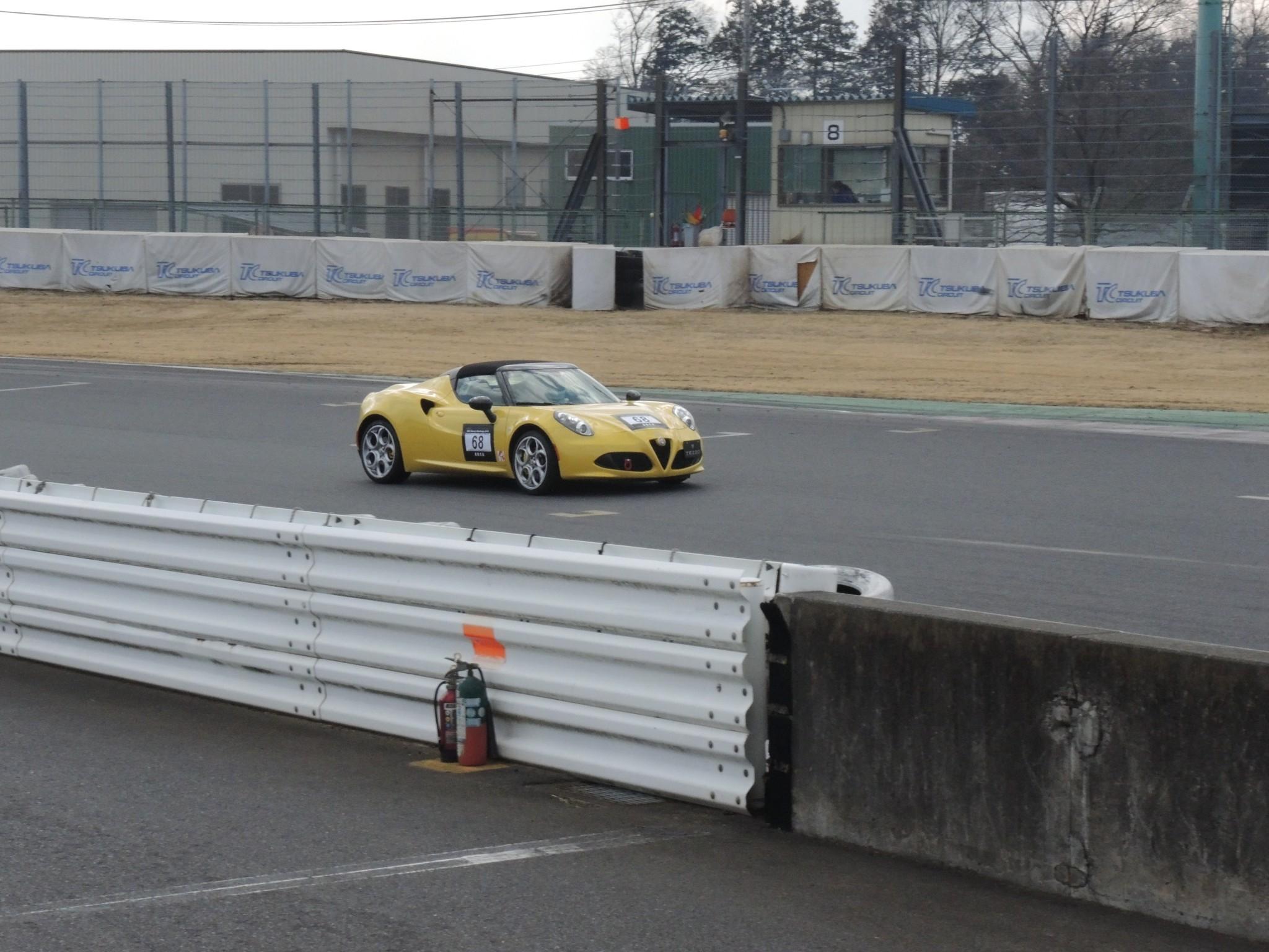 211(日)アルファロメオチャレンジ レースに参戦しました! (3)