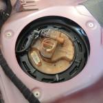 アルファロメオ159 燃料ポンプ交換 ガソリン漏れ修理