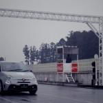 アバルト595サーキットテスト 車高調フルキットリリースです。