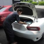 アバルト500にステンピラーキットを再施工!