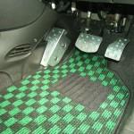 FIAT500 1.4 オシャレなフロアマット