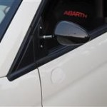 ビタローニ風ミラーをお取付アバルト500
